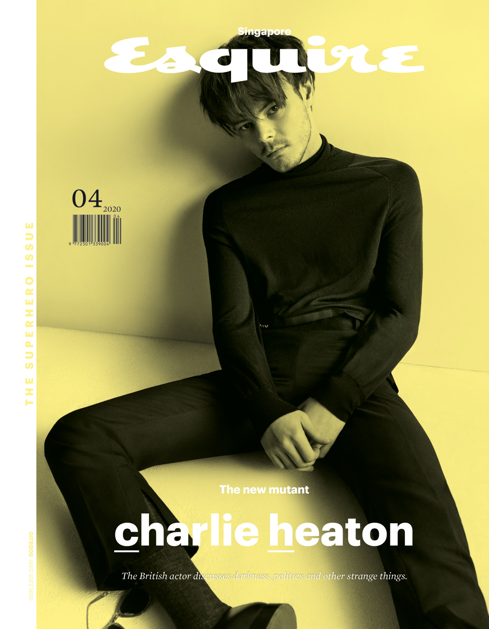 Celebrity Photographer Michael Schwartz: Charlie Heaton for Esquire Magazine cover