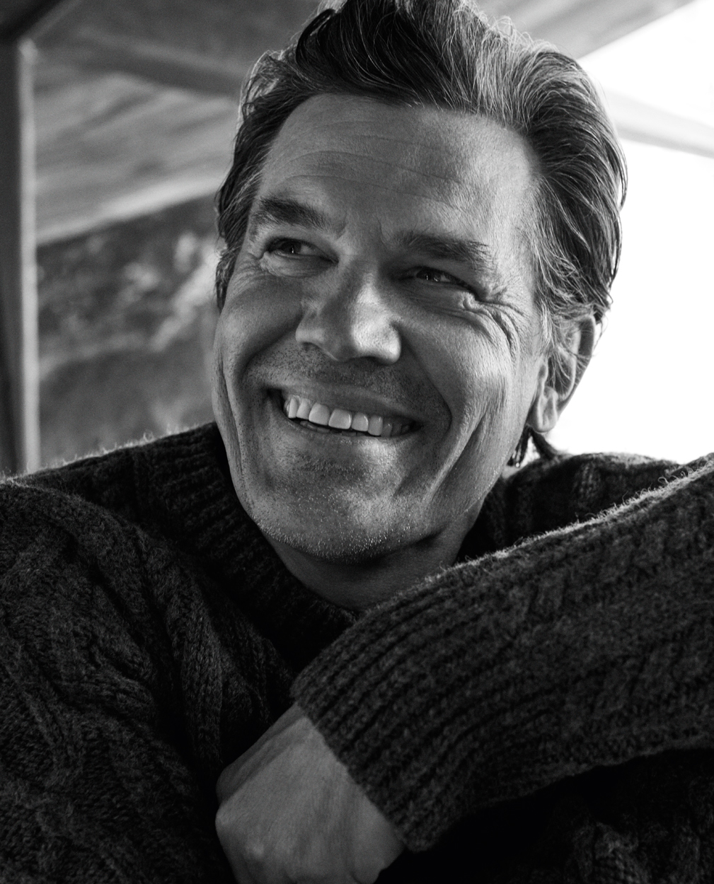 Celebrity Photographer Michael Schwartz: Josh Brolin for Icon magazine