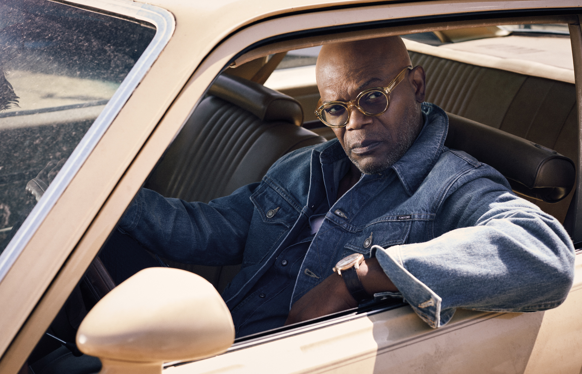 Celebrity Photographer Michael Schwartz: Samuel L. Jackson for Vogue Man Arabia magazine