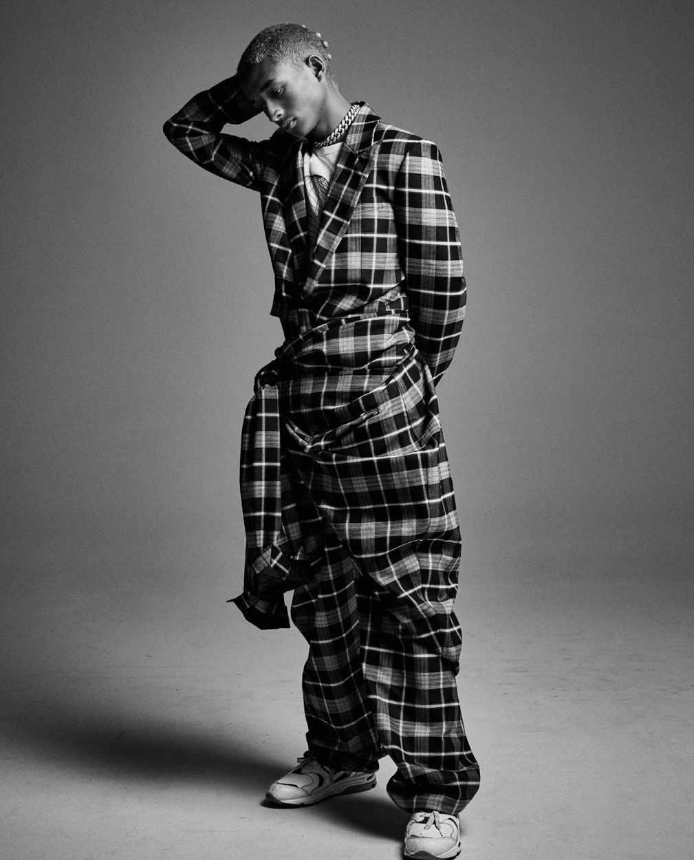 Celebrity Photographer Michael Schwartz: Jaden Smith for Icon Magazine