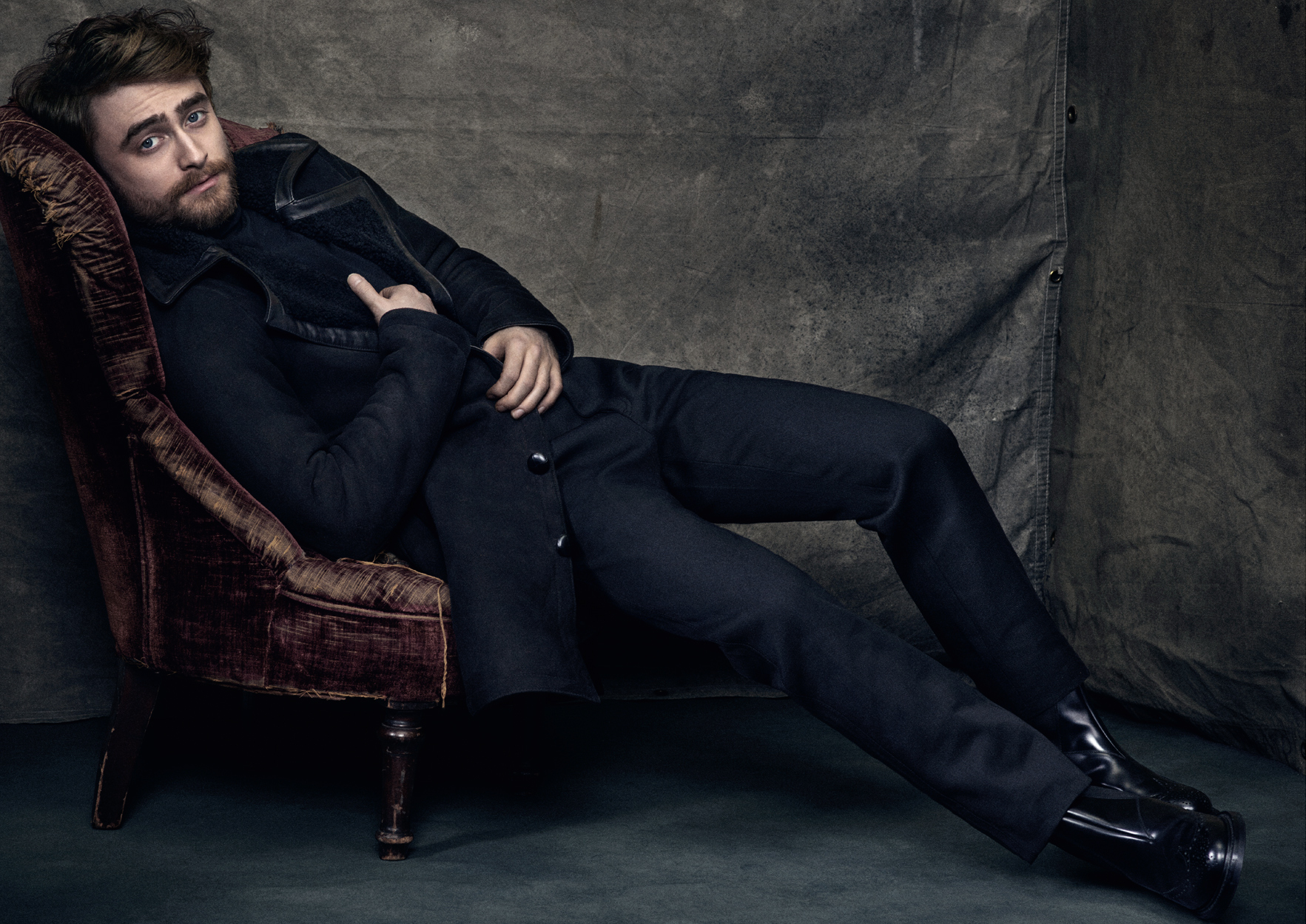 Celebrity Photographer Michael Schwartz: Daniel Radcliffe for Icon Magazine
