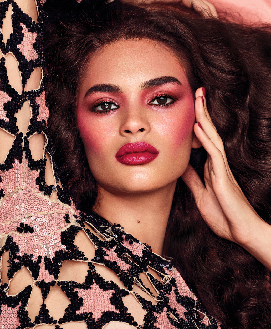 Fashion Photographer Michael Schwartz: model Aira in Marc Jacobs beauty and Vogue Mexico magazine