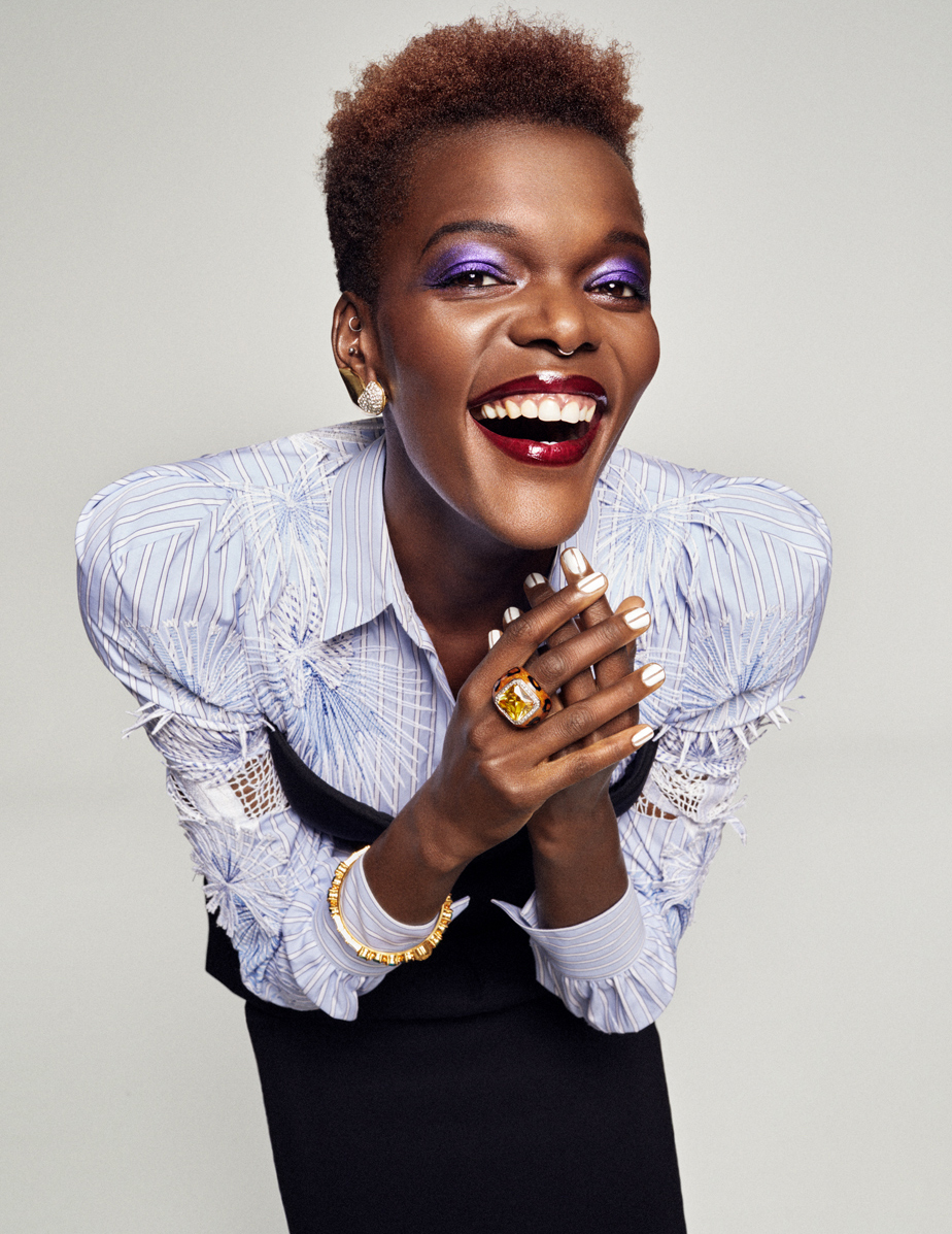 Celebrity Photographer Michael Schwartz: Sheila Atim for Tatler Magazine