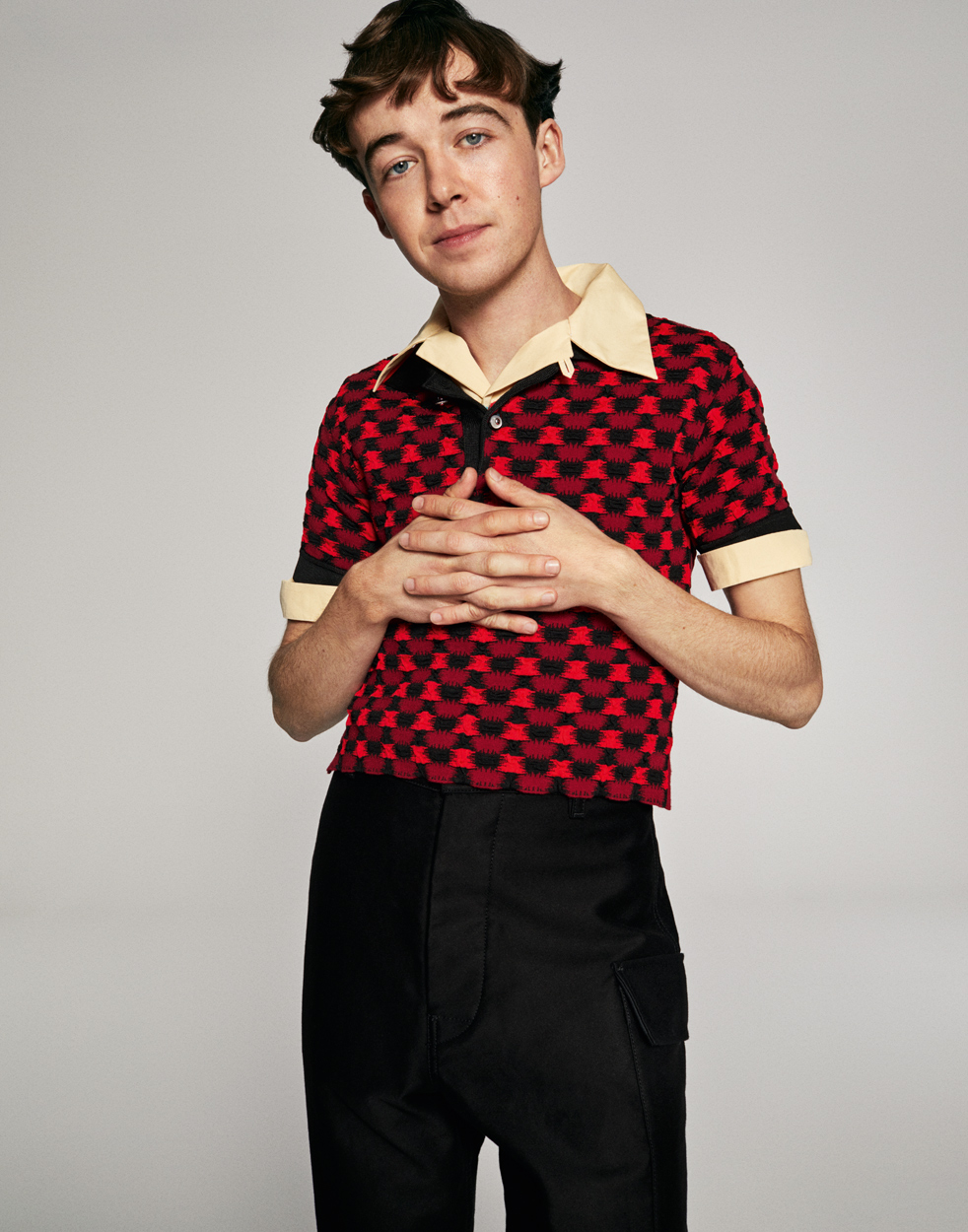 Celebrity Photographer Michael Schwartz: Alex Lawther for Tatler Magazine