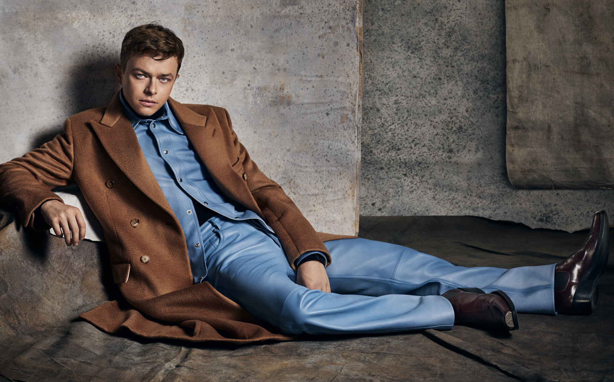 Celebrity Photographer Michael Schwartz: Dane DeHaan for Icon Magazine in Clavin Klein
