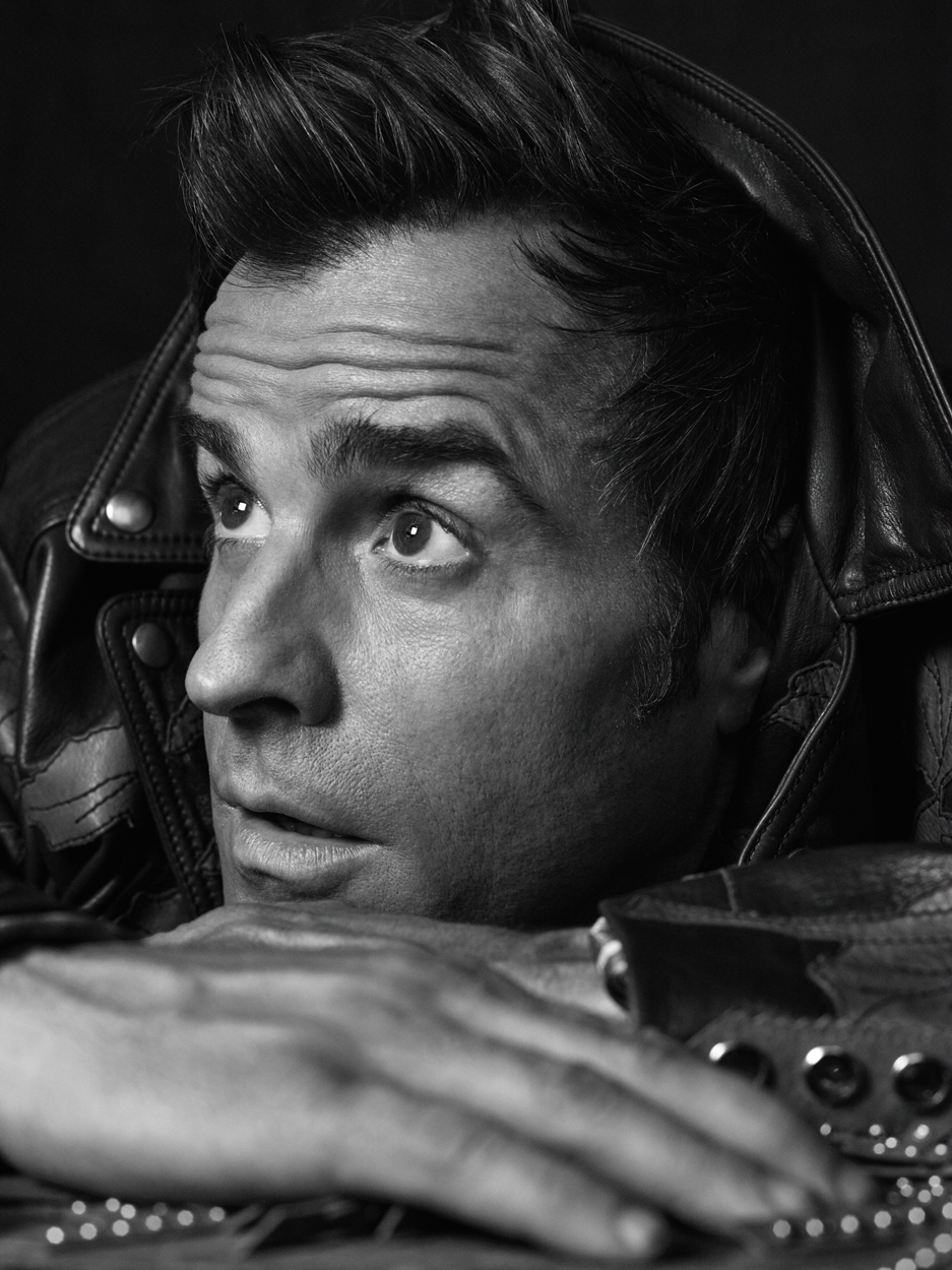 Celebrity Photographer Michael Schwartz: Justin Theroux for Icon magazine