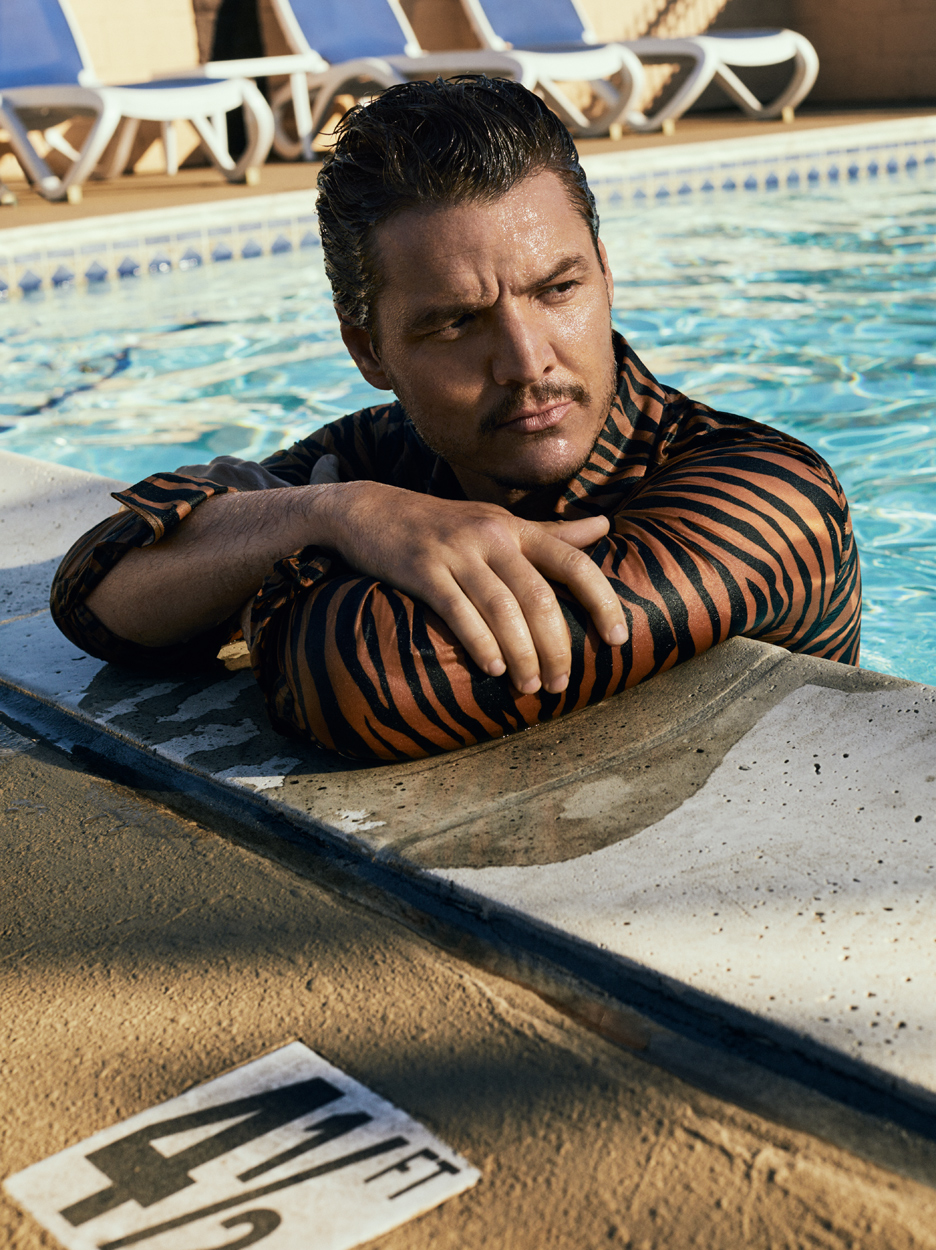 Celebrity Photographer Michael Schwartz: Pedro Pascal for Style Magazine