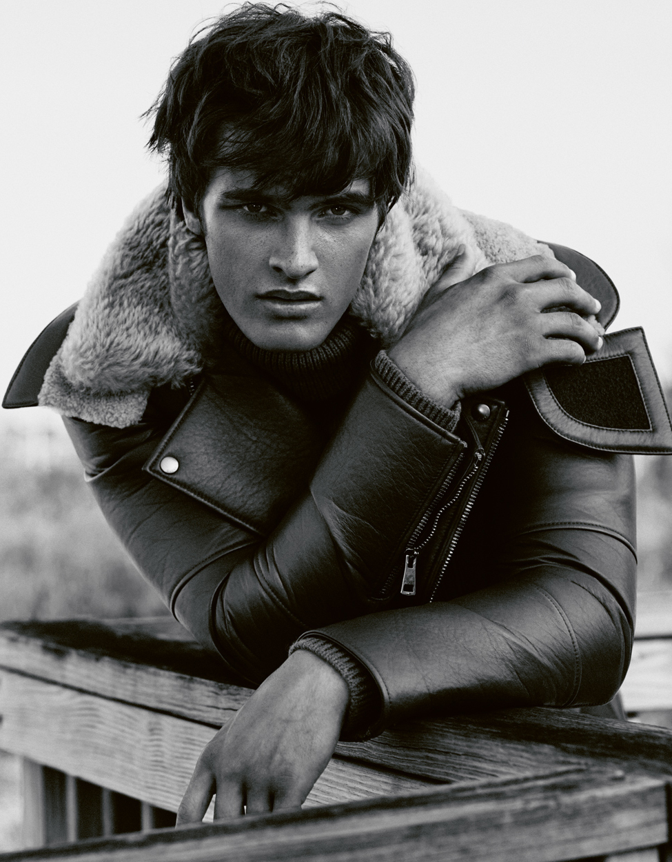 Fashion Photographer Michael Schwartz: model Matthew Terry for Dansk magazine