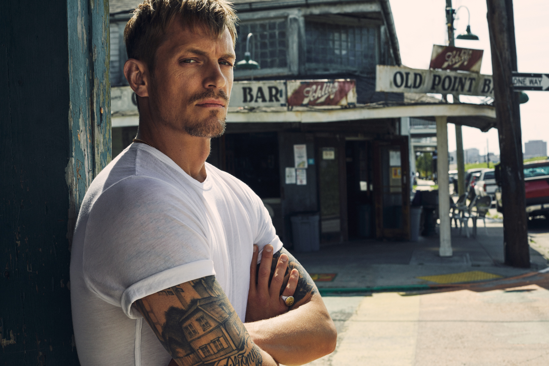 Celebrity Photographer Michael Schwartz: Joel Kinnaman for Men