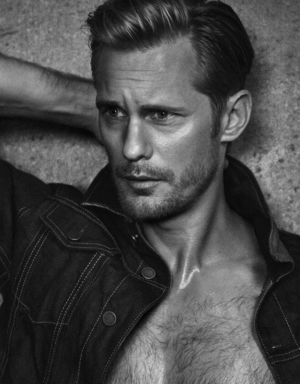 Celebrity Photographer Michael Schwartz: Alexander Skarsgard for Vanity Fair Italy magazine