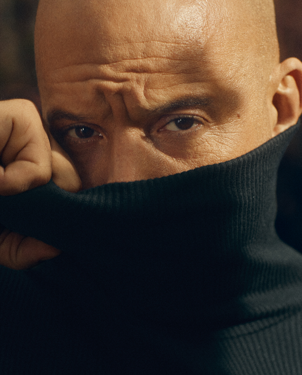 Celebrity Photographer Michael Schwartz: Vin Diesel for Icon Magazine cover in Vuitton