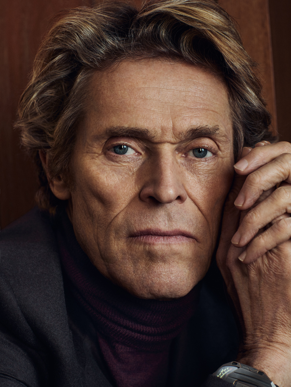 Celebrity Photographer Michael Schwartz: Willem Dafoe for The Rake magazine