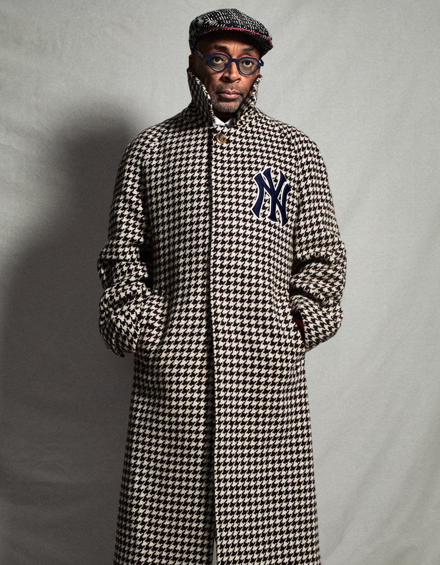 Celebrity Photographer Michael Schwartz: Spike Lee for Icon Magazine in Gucci