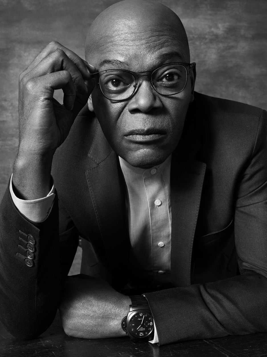Celebrity Photographer Michael Schwartz: Samuel L. Jackson for Lionsgate Hitman