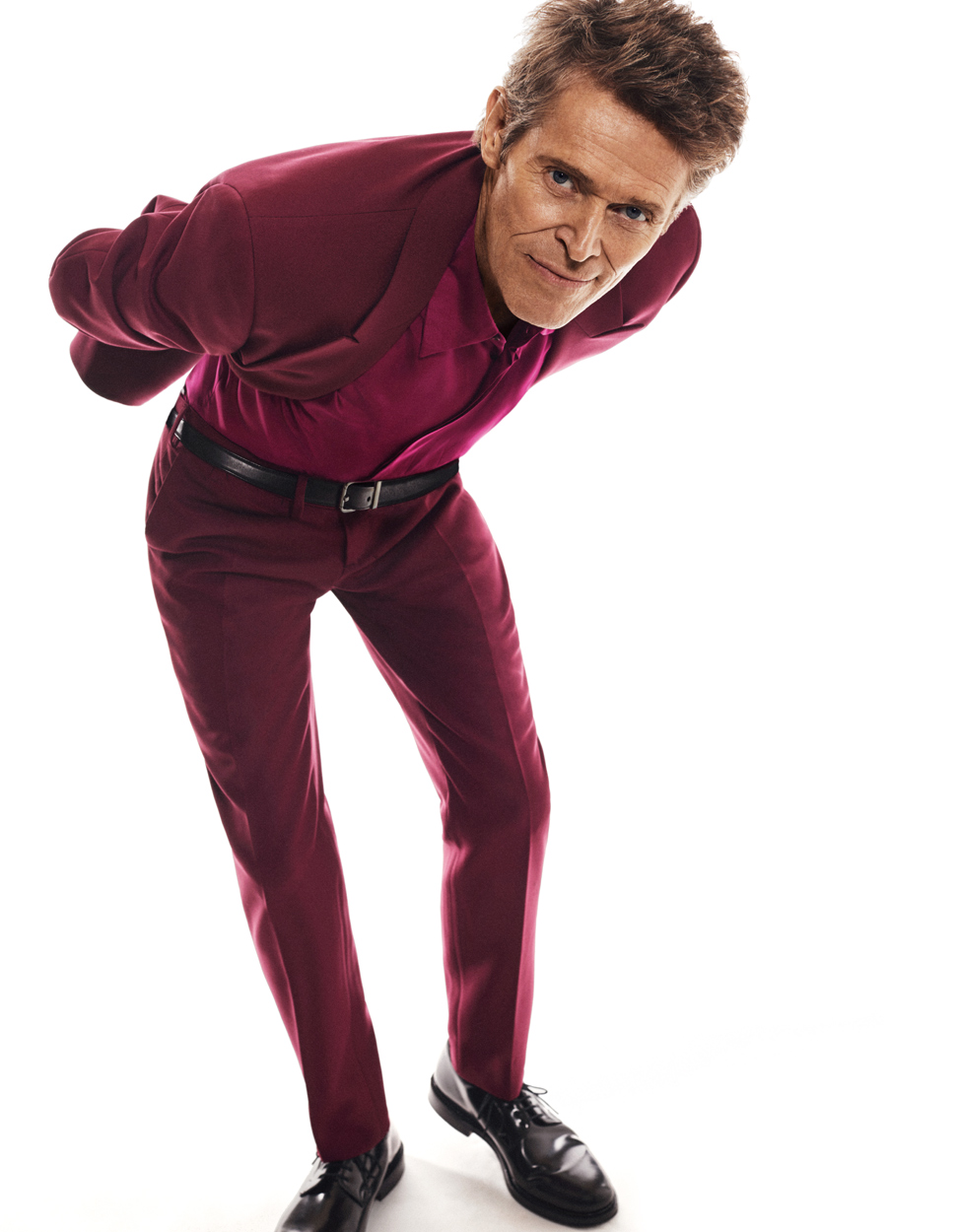 Celebrity Photographer Michael Schwartz: Willem Dafoe for Esquire Magazine