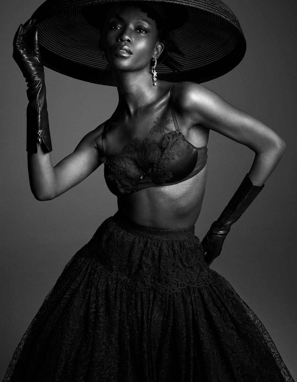Fashion Photographer Michael Schwartz: model Riley Montana for Vanity Fair Italy magazine