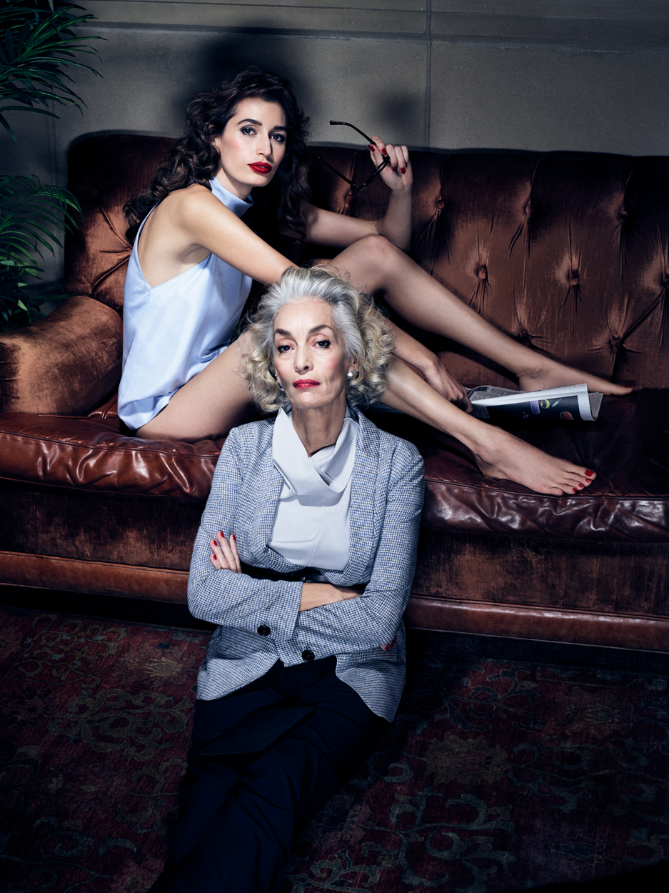 Fashion Photographer Michael Schwartz: Kenza Fourth & Dora Bouchoucha for VS. magazine