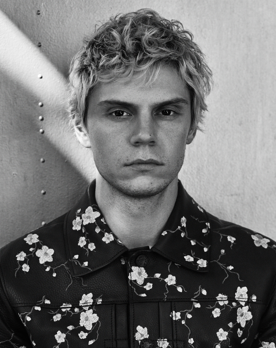 Celebrity Photographer Michael Schwartz: Evan Peters for Icon Magazine cover