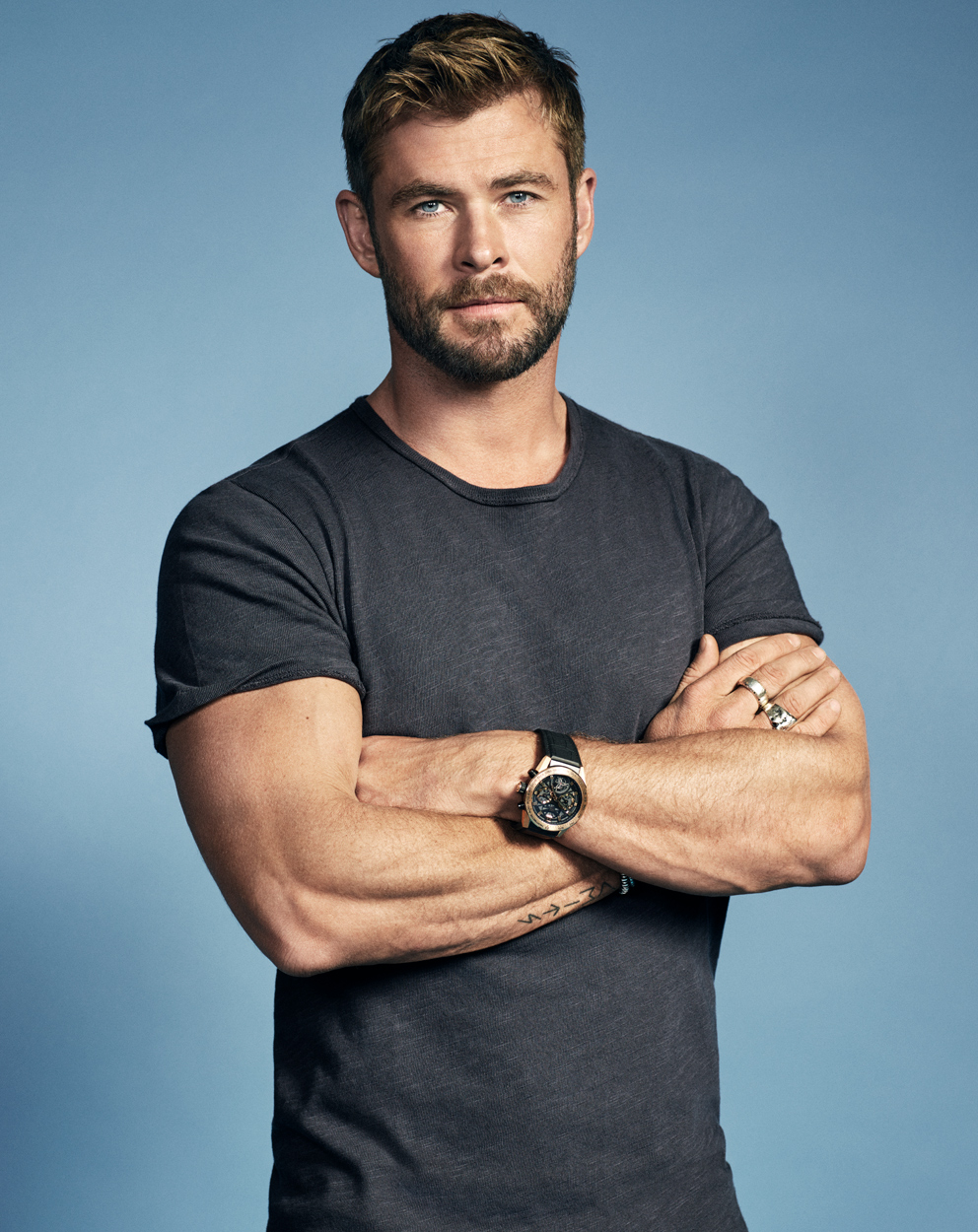 Celebrity Photographer Michael Schwartz: Chris Hemsworth for Men