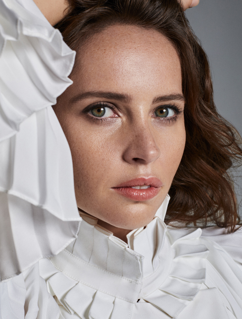 Celebrity Photographer Michael Schwartz: Felicity Jones