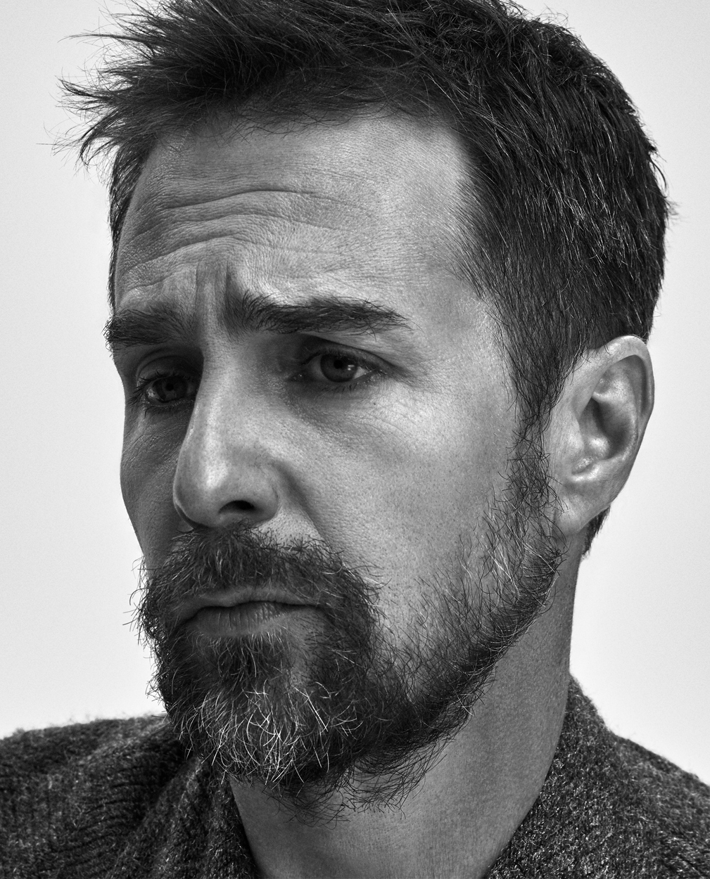 Celebrity Photographer Michael Schwartz: Sam Rockwell for Icon Magazine