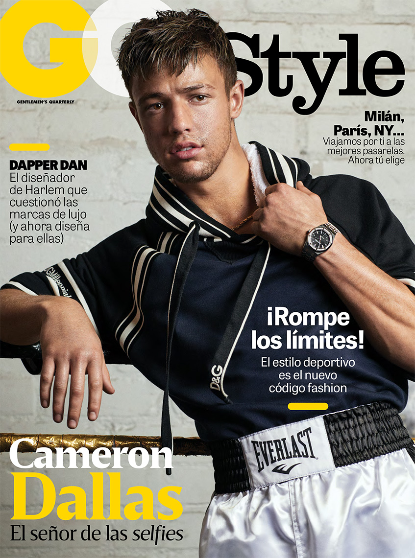 Celebrity Photographer Michael Schwartz: Cameron Dallas for GQ Style magazine cover