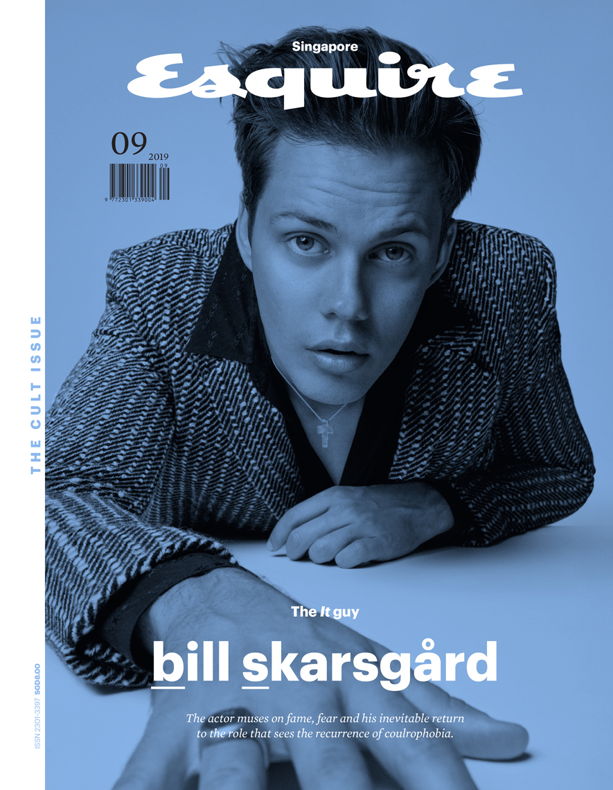 Celebrity Photographer Michael Schwartz: Bill Skarsgard for Esquire magazine cover