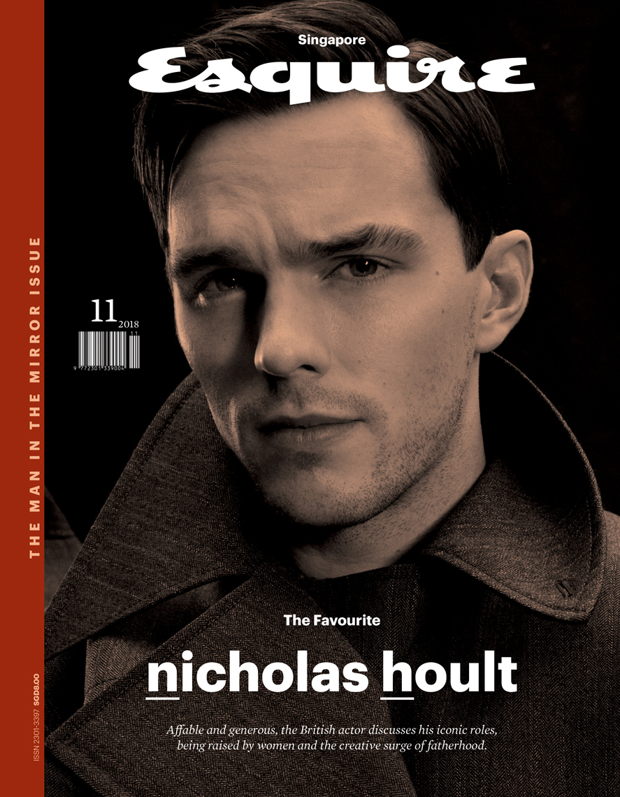 Celebrity Photographer Michael Schwartz: Nicholas Hoult for Esquire magazine cover