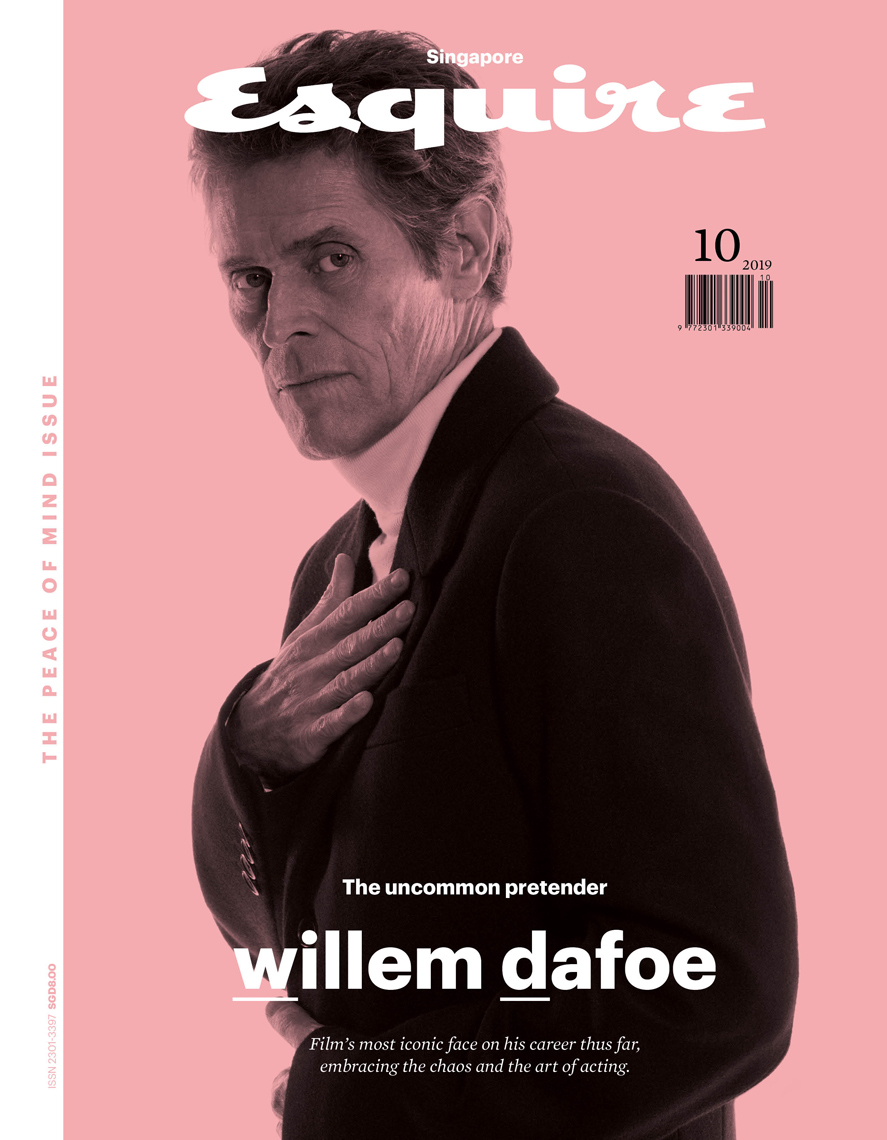 COVERWillemDafoeESQ