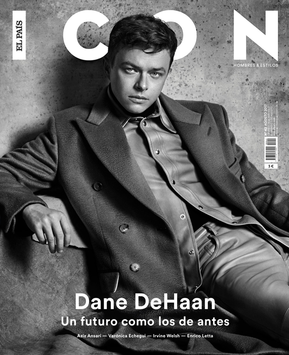 Celebrity Photographer Michael Schwartz: Dane DeHaan for Icon magazine cover