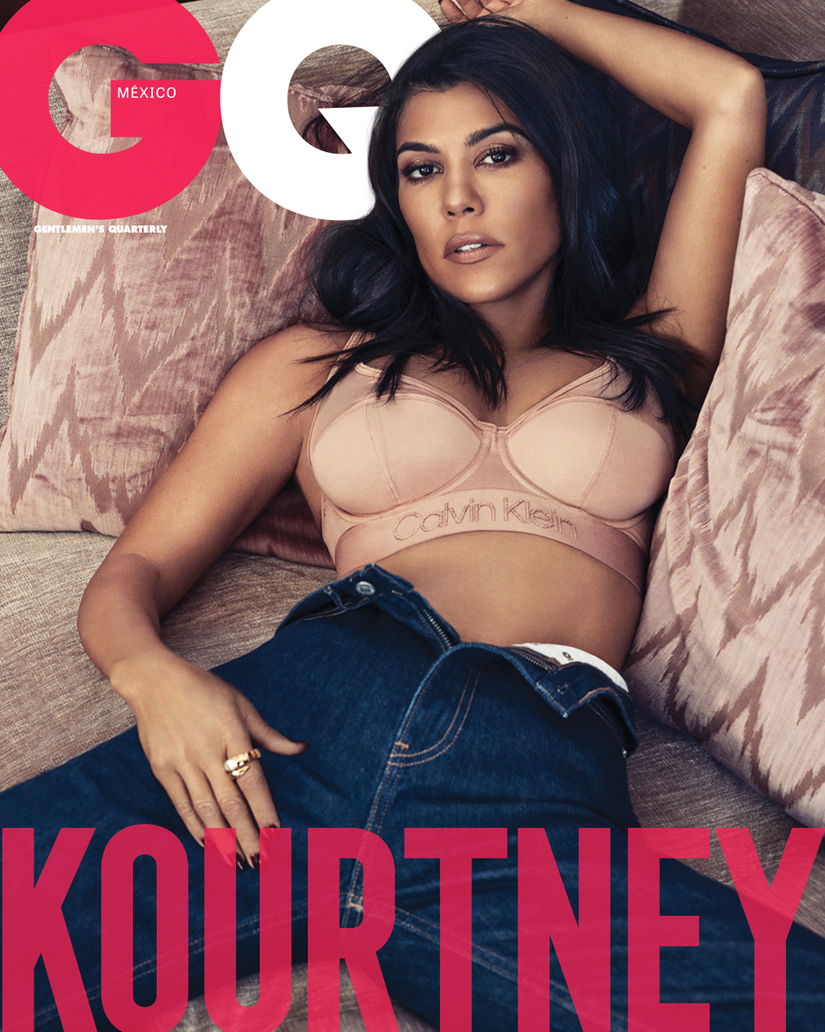Celebrity Photographer Michael Schwartz: Kourtney Kardashian for GQ Mexico magazine cover