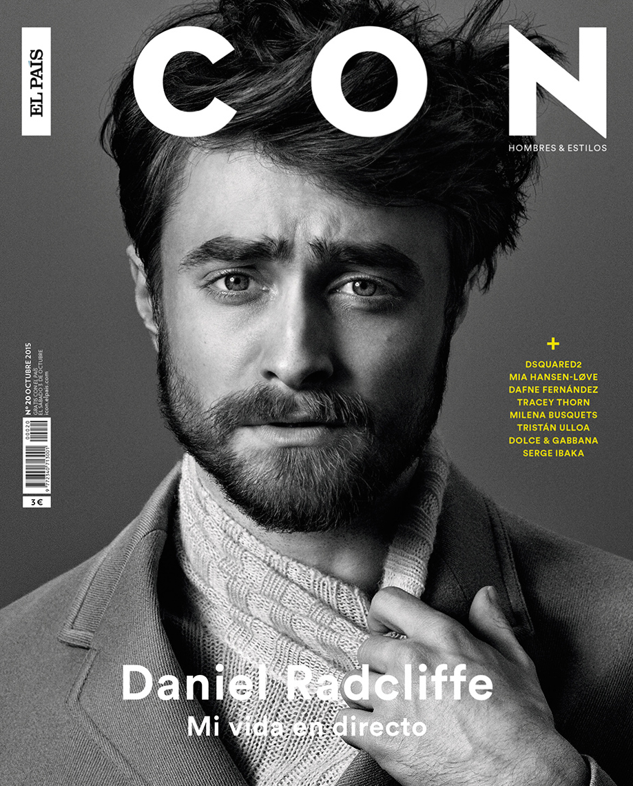 Celebrity Photographer Michael Schwartz: Daniel Radcliffe for Icon magazine cover