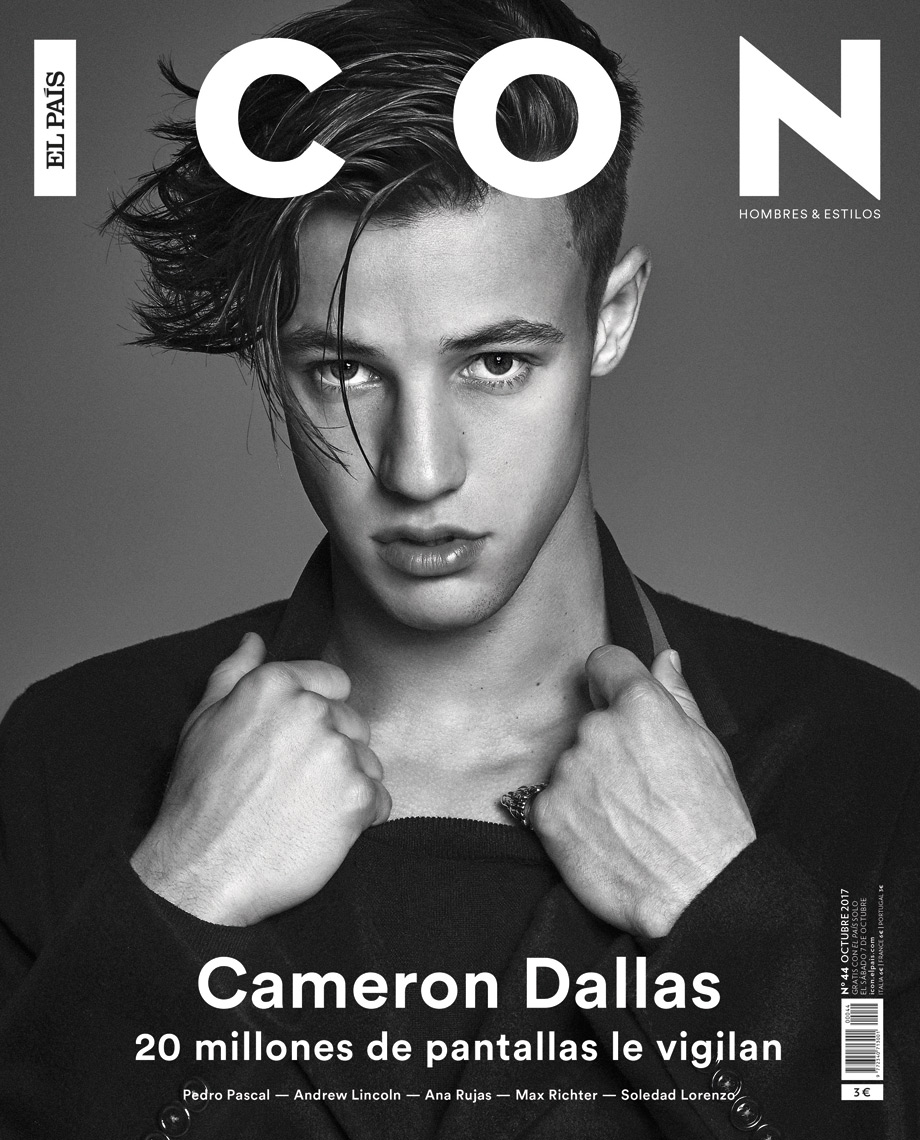 Celebrity Photographer Michael Schwartz: Cameron Dallas for Icon magazine cover