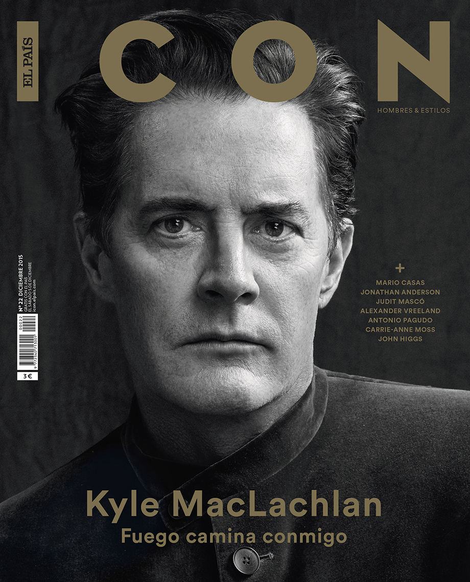 Celebrity Photographer Michael Schwartz: Kyle MacLachlan for Icon magazine cover