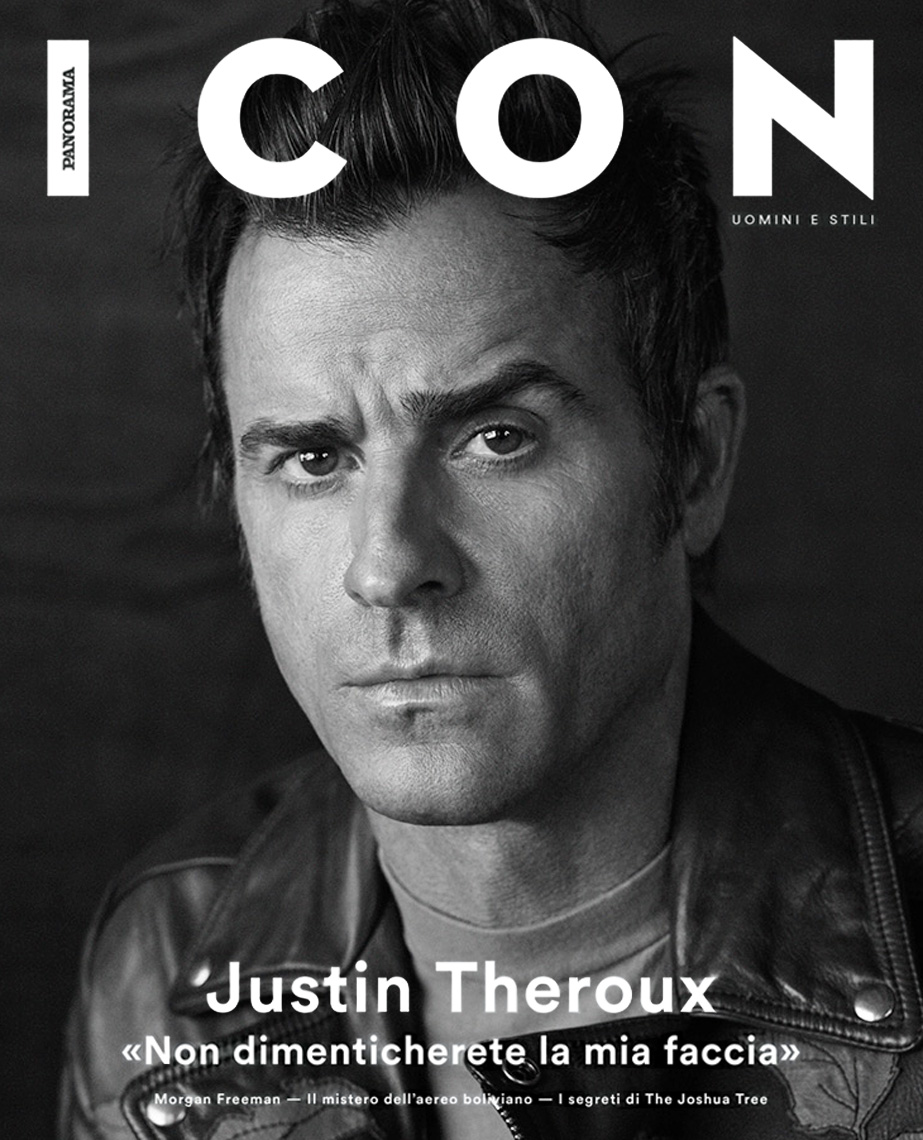 Celebrity Photographer Michael Schwartz: Justin Theroux for Icon magazine cover