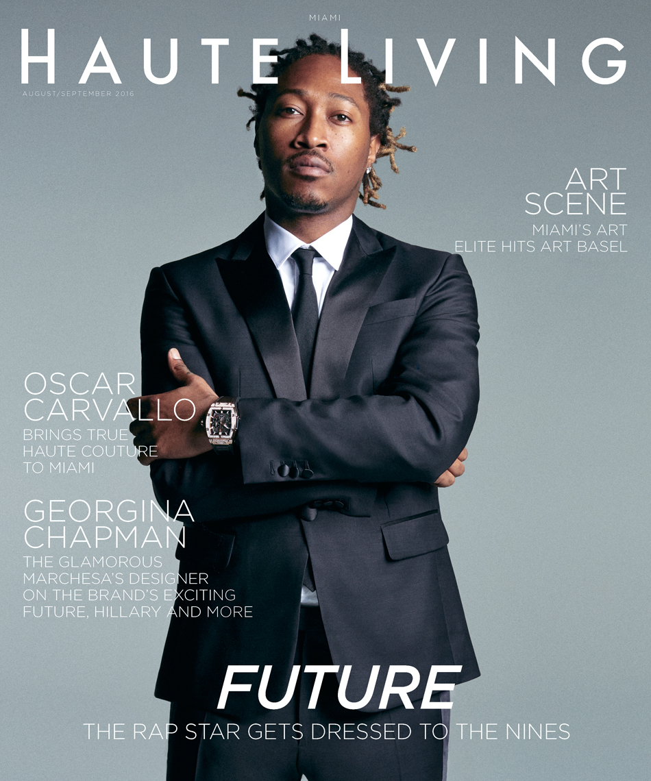 Celebrity Photographer Michael Schwartz: Future for Haute Living magazine cover