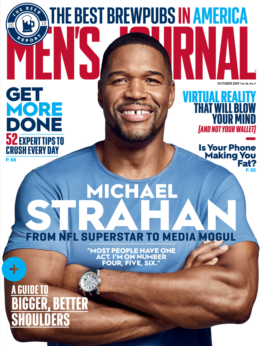 Celebrity Photographer Michael Schwartz: Michael Strahan for Men