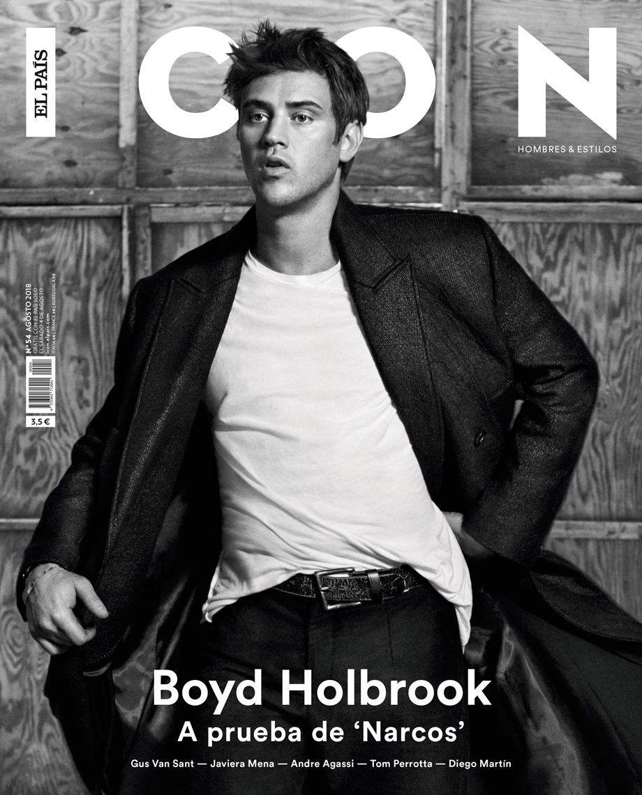 Celebrity Photographer Michael Schwartz: Boyd Holbrook for Icon magazine cover