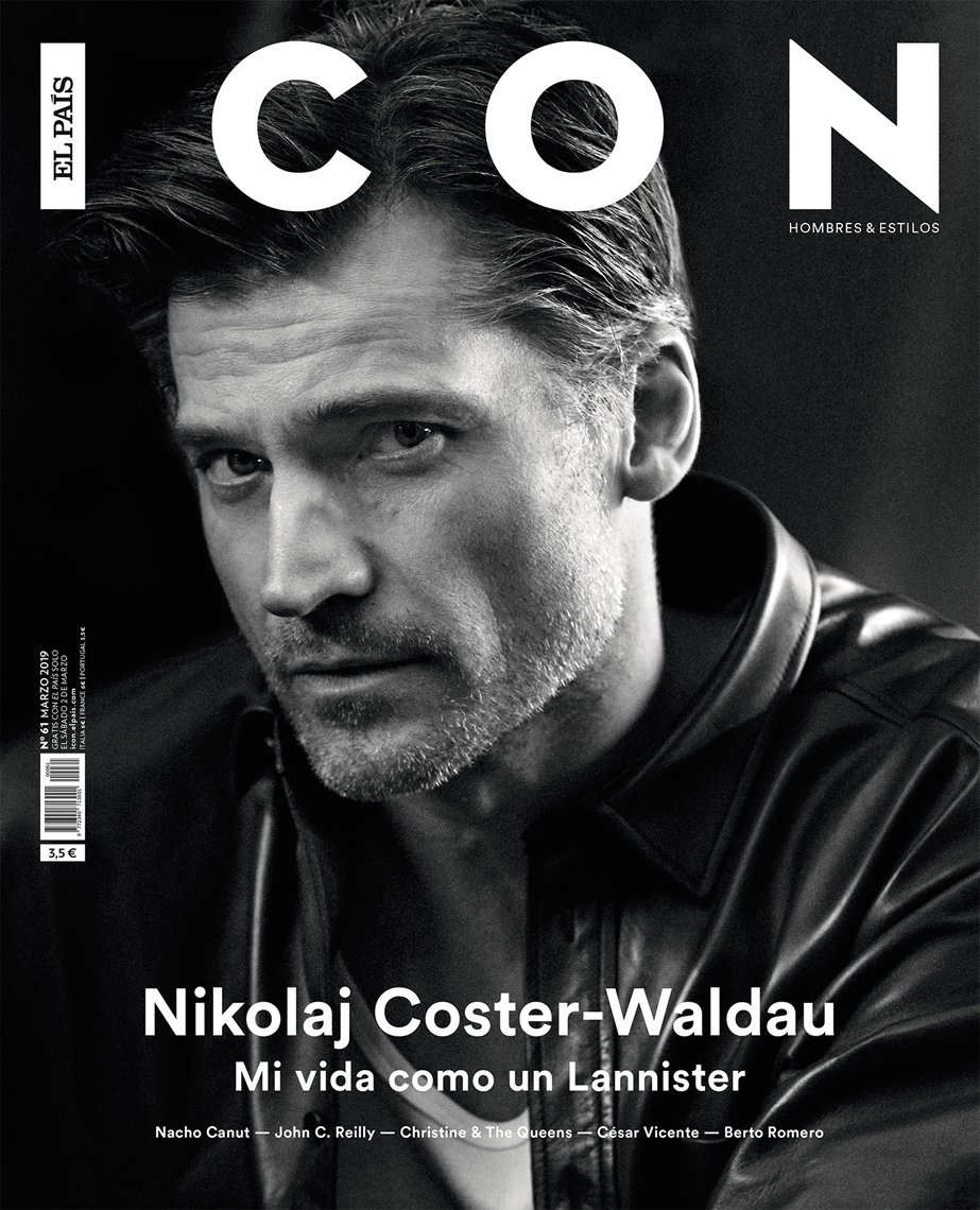 Celebrity Photographer Michael Schwartz: Nikolaj Coster-Waldau for Icon magazine cover