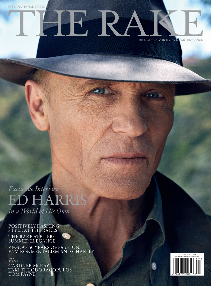 Celebrity Photographer Michael Schwartz: Ed Harris for The Rake magazine cover