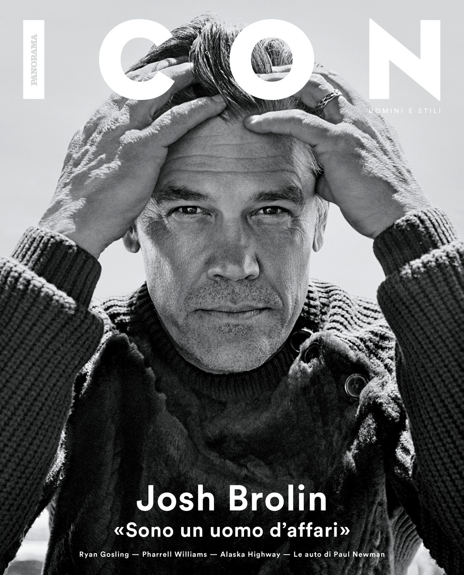 Celebrity Photographer Michael Schwartz: Josh Brolin for Icon magazine cover