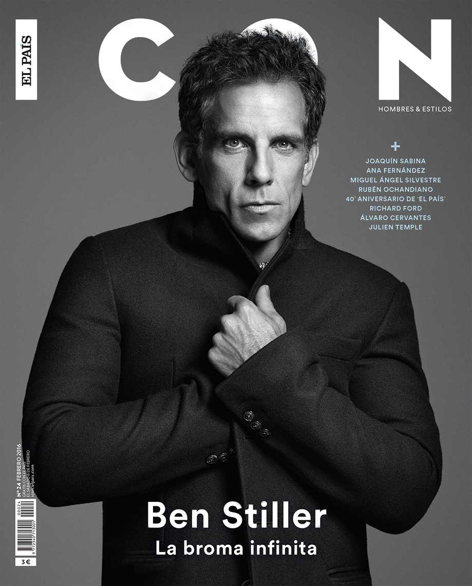 Celebrity Photographer Michael Schwartz: Ben Stiller for Icon magazine cover